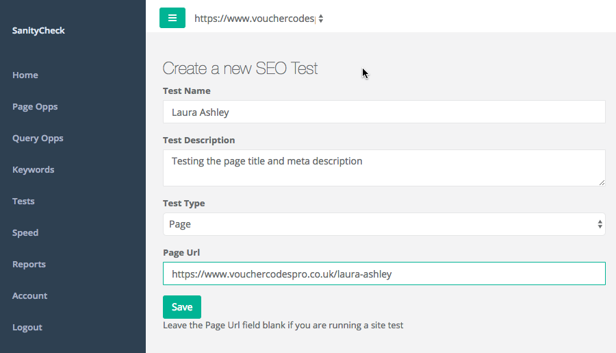 SEO Testing - how to setup a test and track results